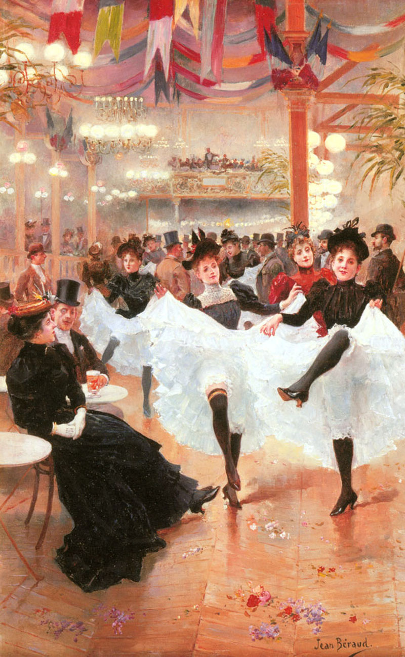 Cafe de Paris by Jean-Georges Béraud - circa 1900