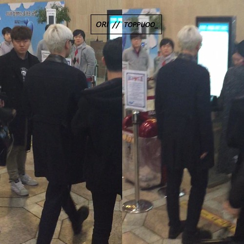 Big Bang - Gimpo Airport - 15jan2015 - TOP - Toppuoo_ - 02