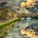 Puente vecchio by Uxío Rivas