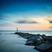 Looow tide at Folly Beach by jason_frye