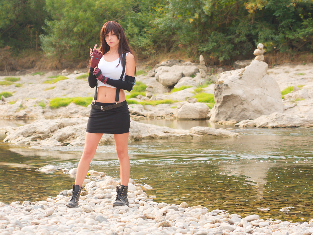 related image - Shooting Tifa Lockhart - Final Fantasy - Gorges de l'Hérault - 2016-08-17- P1520506