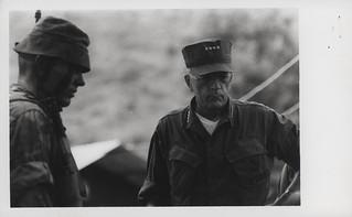 Leonard Chapman Tours 1st Marine Division Area, 6 August 1968