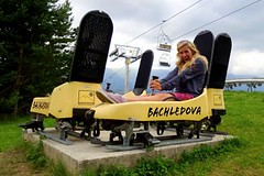 Bike SNOW tour: Bachledová - milá biková trať i rychlá bobovka pod Tatrami