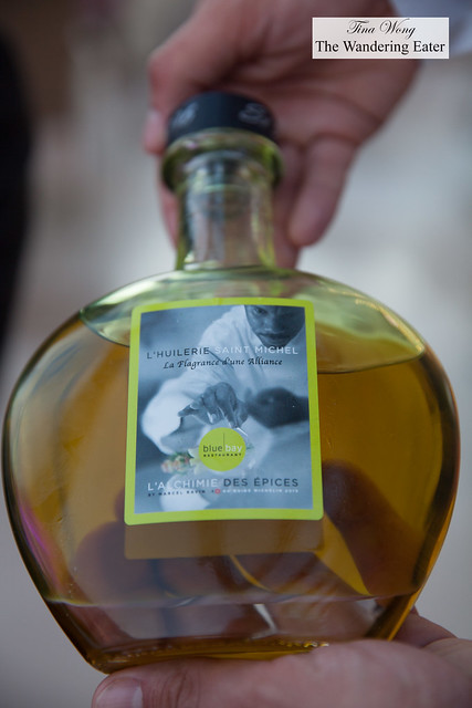 Extra virgin olive oil created for the Executive Chef Marcel Ravin