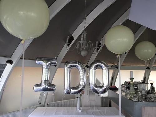 Folieballon Letters I DO Abel Poortgugaal