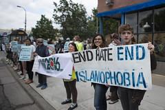 Rally against Islamophobia and hate speech