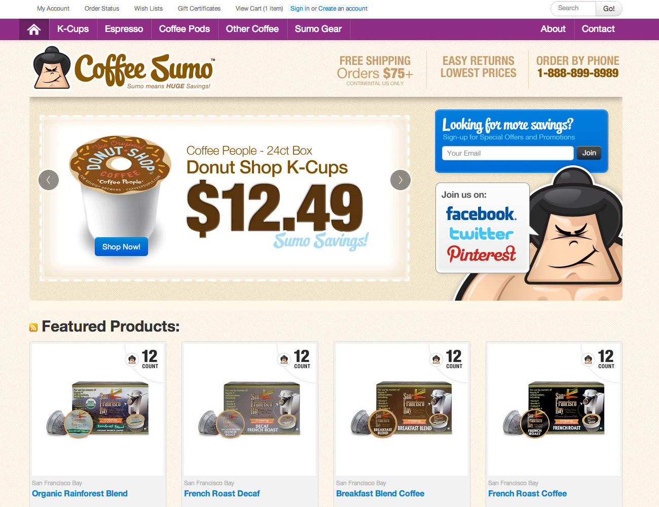 Coffee Sumo Site