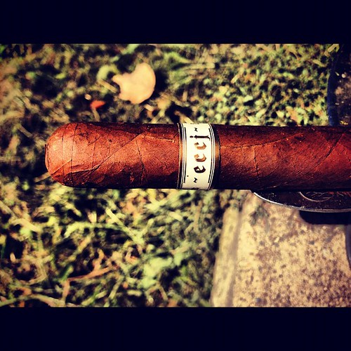 A little ECCJ @illusionecigars while I sit in on a conference call.