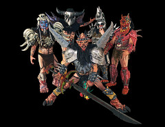 GWAR Official Tour Group Shot