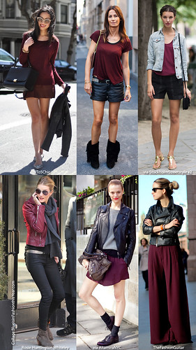 oxblood trend
