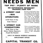 Capital Transit Help Wanted 1942 (Photo 6)