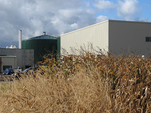 The Fremont Industrial Park, site of America's largest anaerobic digester, funded with USDA Rural Development support.