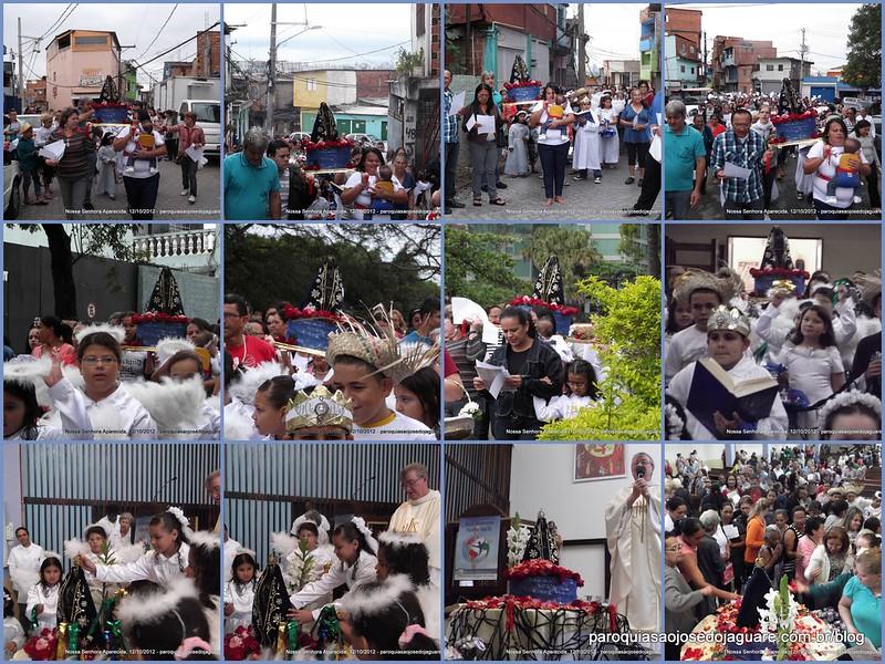 Paroquia S. José do Jaguaré - Nossa Senhora Aparecida 2012