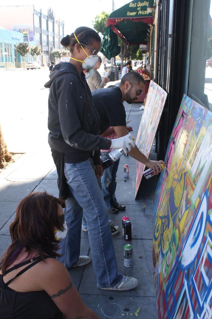 Art of Graffiti: Intro Class with Nate1