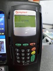 EFTPOS client machine