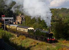 2857 leaving Highley 2