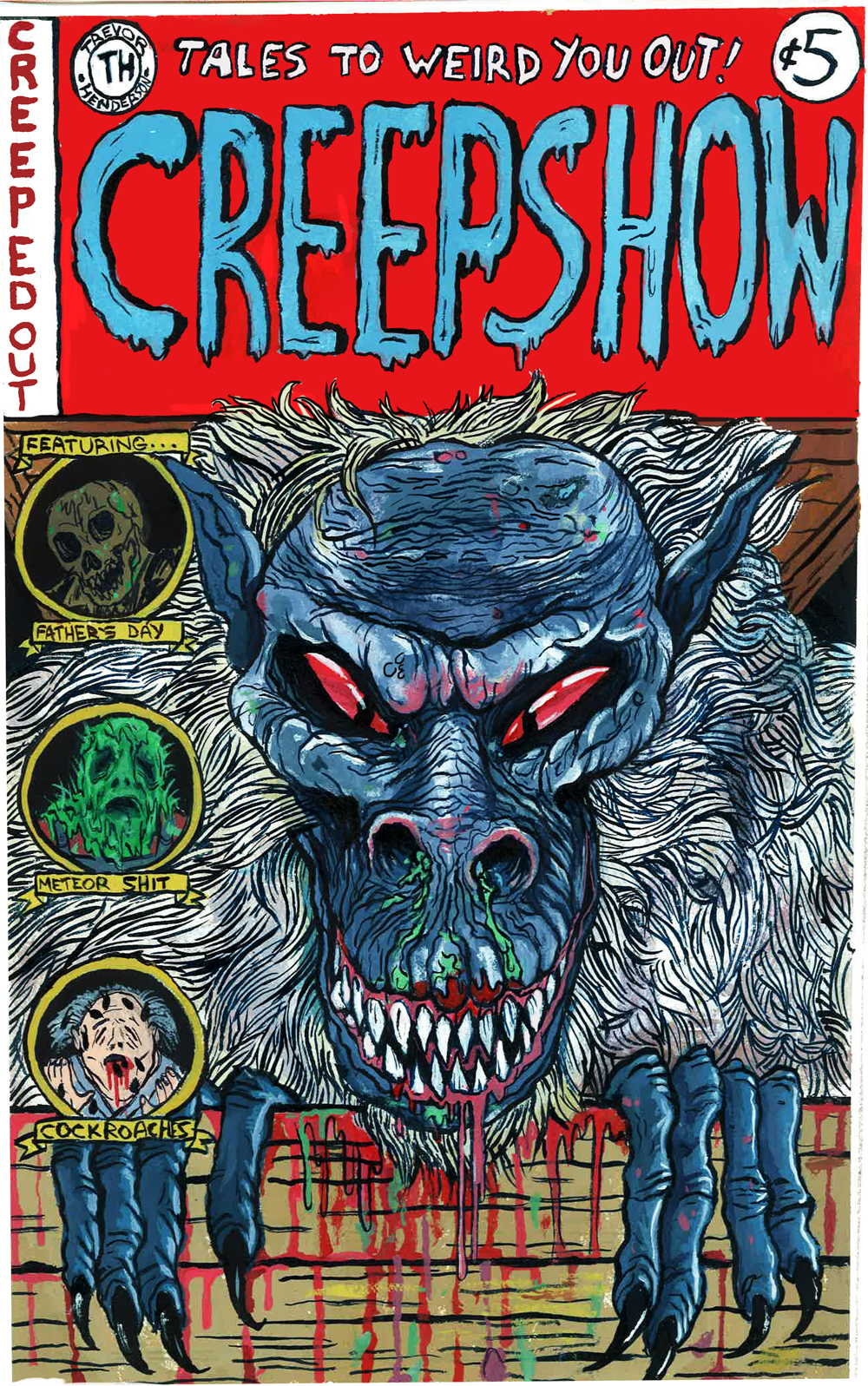 Trevor Henderson - Creepshow