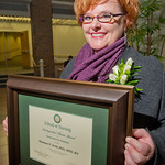 12-067 -- Shannon Zenk '95 was honored as the School of Nursing Distinguished Alumna.