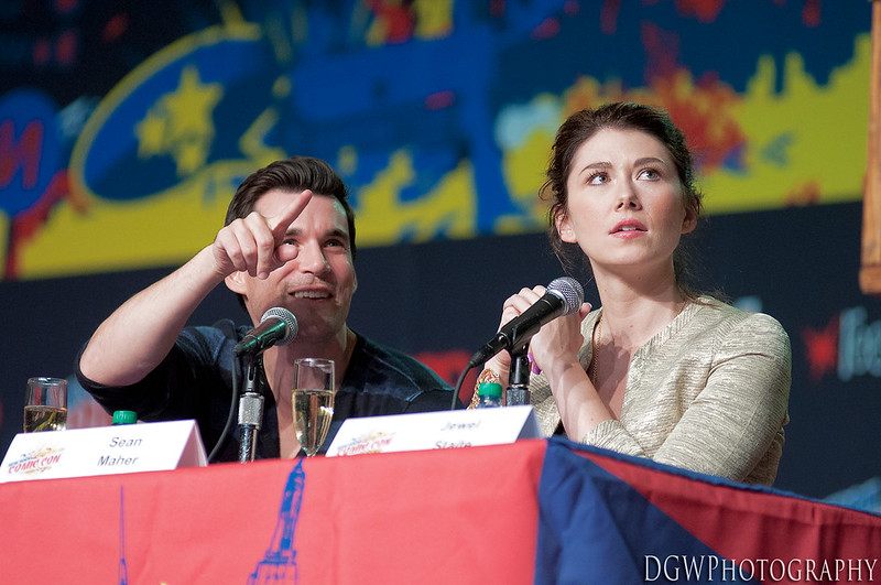 NY ComicCon 2012 -Sean Maher & Jewel Staite