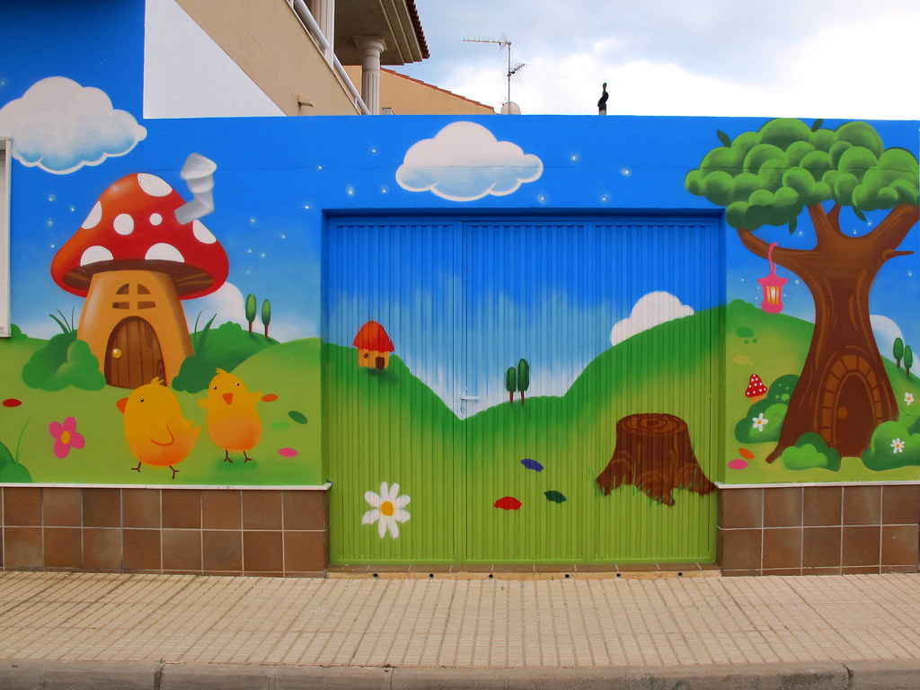 Murales pintados 39 s most interesting flickr photos picssr for Murales infantiles