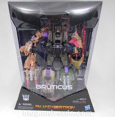Transformers Bruticus Generations Fall of Cybertron - SDCC Exclusive - empaque