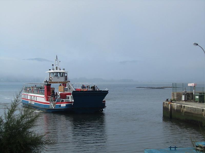 El ferry a Caminha