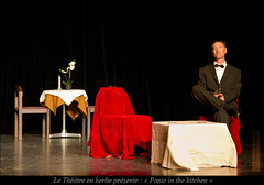 Le Théâtre en herbe : Panic in the kitchen