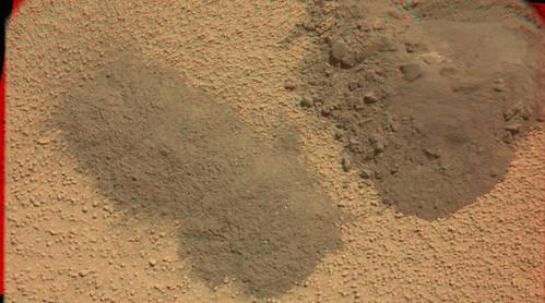 CURIOSITY sol 67 Mastcam L R anaglyph