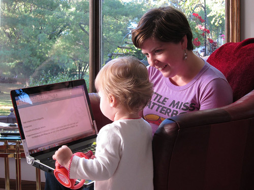 teaching Ava to type