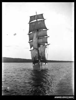 Barque RAUPO on Sydney Harbour