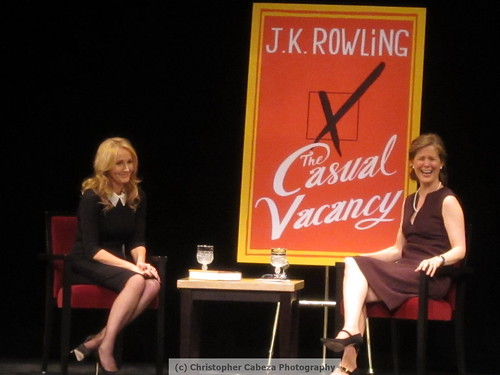 JK Rowling event - Lincoln Center, NYC (17)