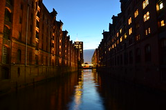 Speicherstadt Day and Night by Pokin' 'RTW