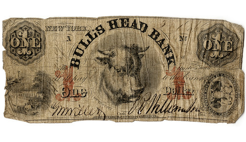 Bull's Head bank note