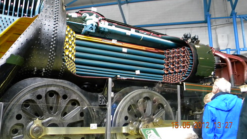 SR 'Ellerman Lines' 4-6-2 Merchant Navy Class sectioned steam locomotive, No 35029