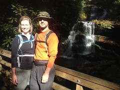 Travis and Michele  at Martin Creek Falls