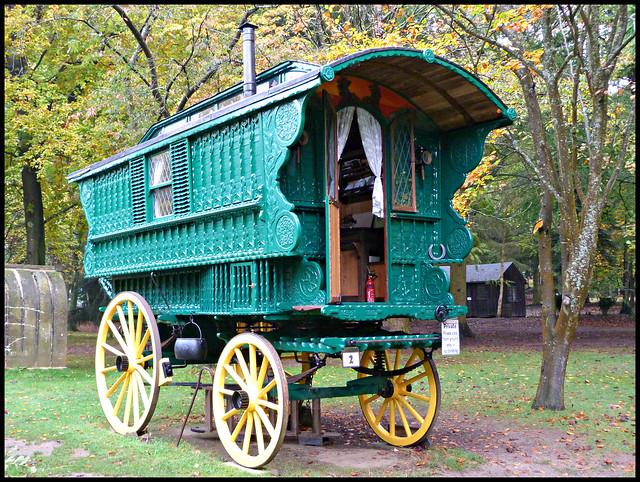 New Horsedrawn Gipsy Caravan  Flickr  Photo Sharing