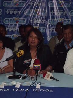 Ilenia Medina Secretaria Nacional de Organización