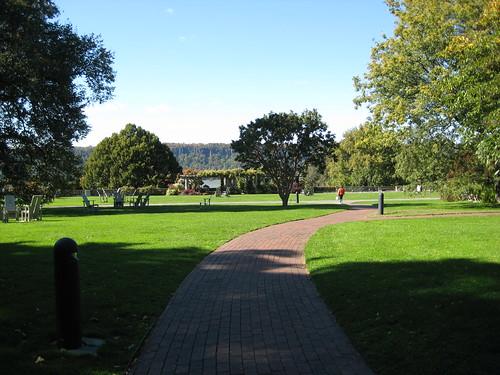 Entrance Lawn