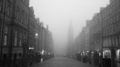 Edinburgh, autumn mist 01