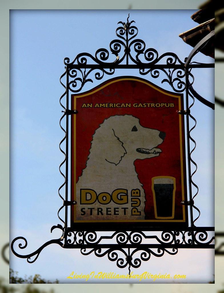 DOG Street Sign