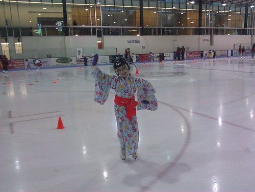 Geisha on ice! by ngoldapple
