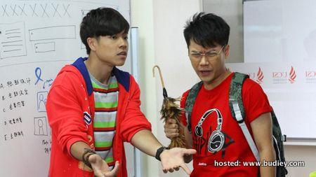 L-R Thomas Kok & Leslie Chai