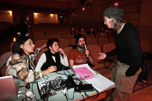 Sara Erica Riccardo e Laura in regia Peja Kosovo