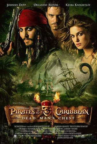 加勒比海盗2:聚魂棺 Pirates of the Caribbean: Dead Man's Chest(2006)