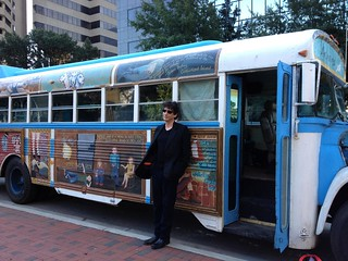 Unchained bus and Neil Gaiman