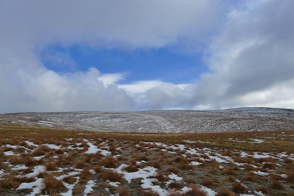 Blue skies over Beinn a' Bhuird