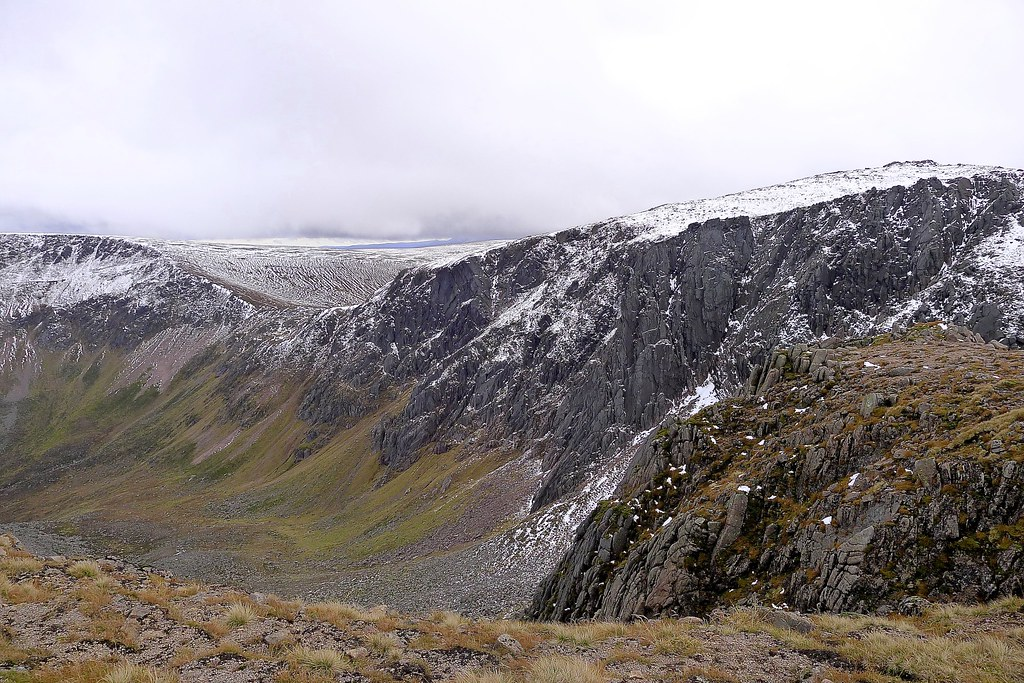 The Sneck and the Garbh Coire