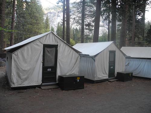 Лагерь в Йосемити