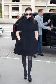 Victoria Beckham Cape Coat Celebrity Style Women's Fashion