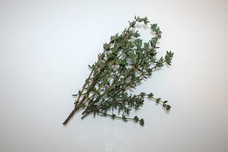 12 - Zutat Thymian / Ingredient thyme